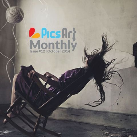 October Issue PicsArt Monthly
