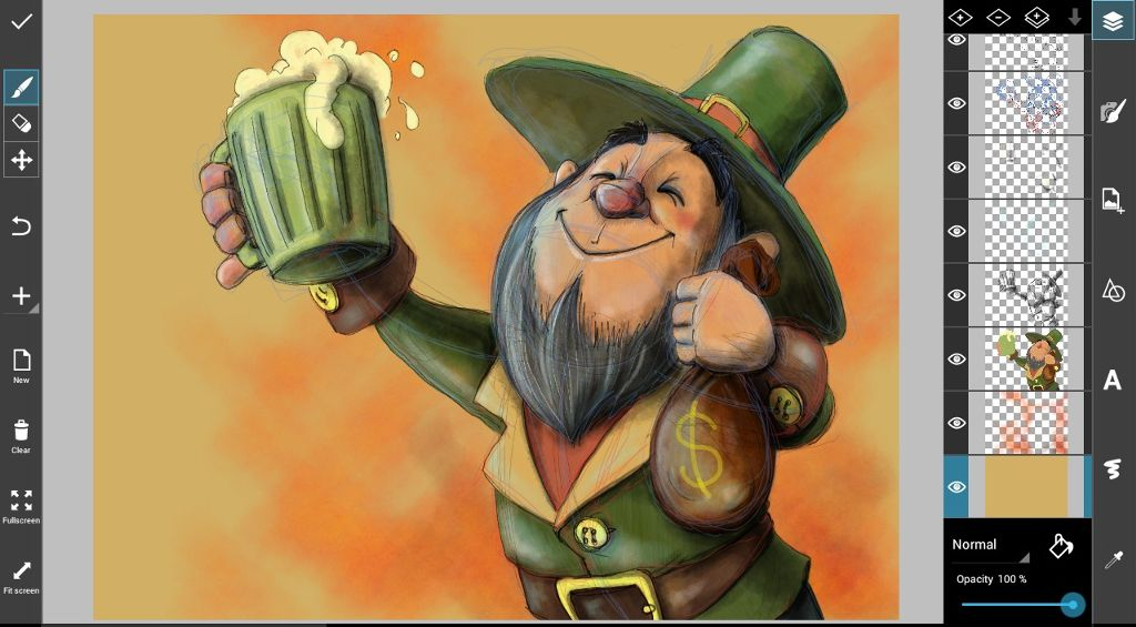how to draw st. Patrick's day Drawing step by step