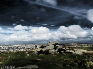 photography nature landscapes carnbrea cornwall