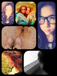 collage colorful cute love people