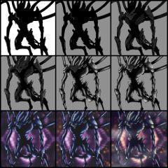 drawing painting monsters drawstepbystep