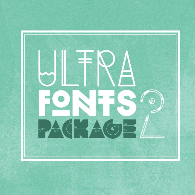 ultra fonts 2 picsart package