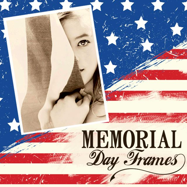 Memorial Day Frames Package