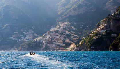 summer positano italy seascape amalfi coast
