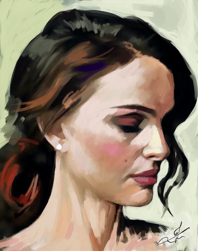 natalie portman  #art #drawing
