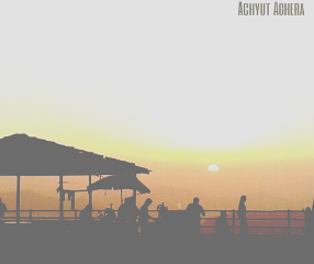 wapfilmeffect silhouette travel summer photography