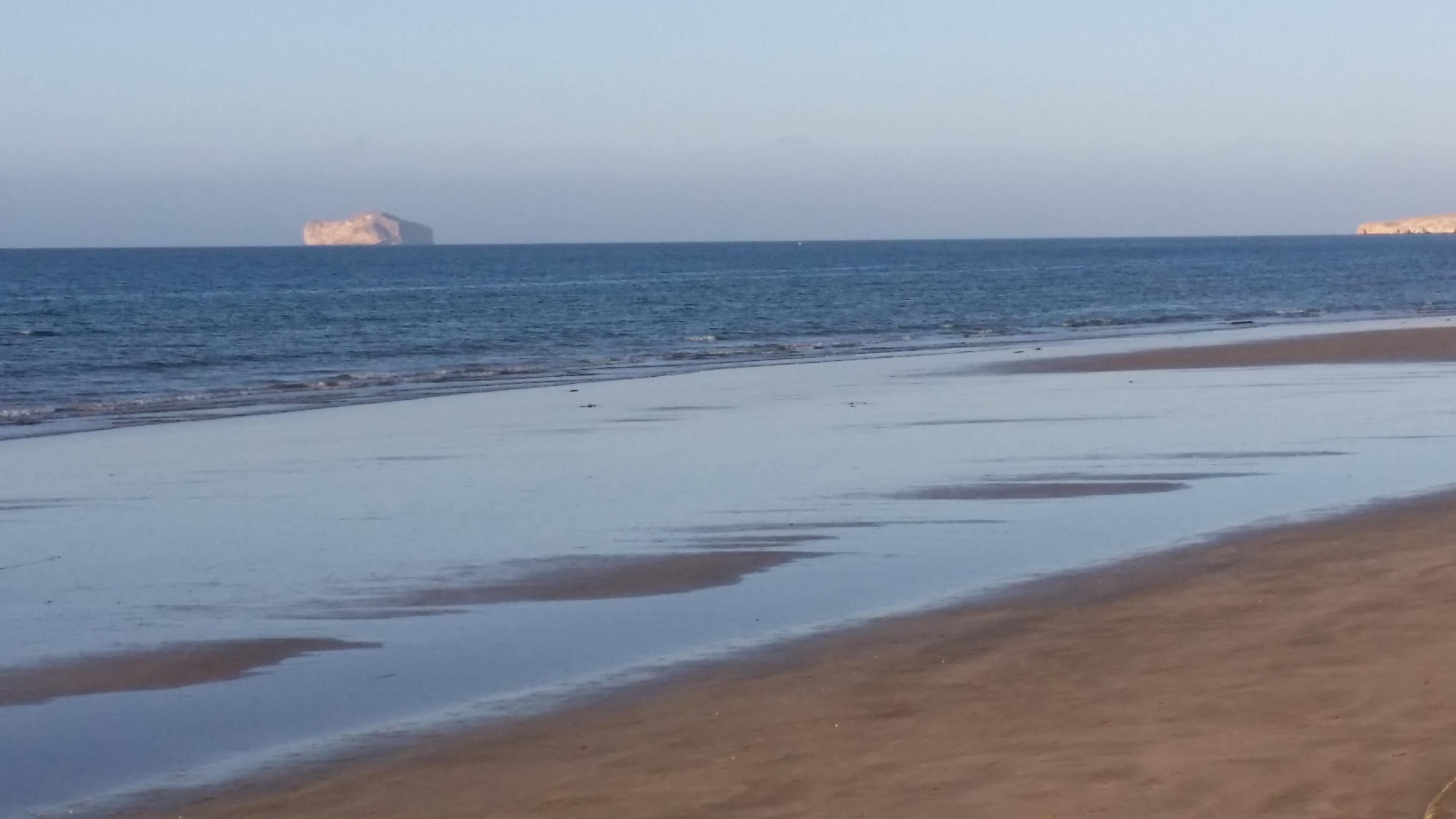 Tropical Island Beach Ambience Sound: شاطئ العذيبه زين تغير جو ع بحر