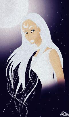 dcprincess princess moon moonprincess drawing