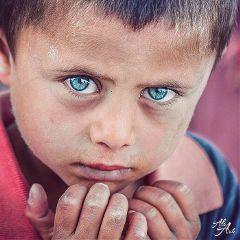 portrait people faces children blueeyes