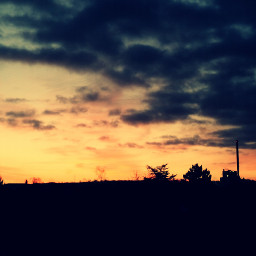 spring sunrise sun germany red